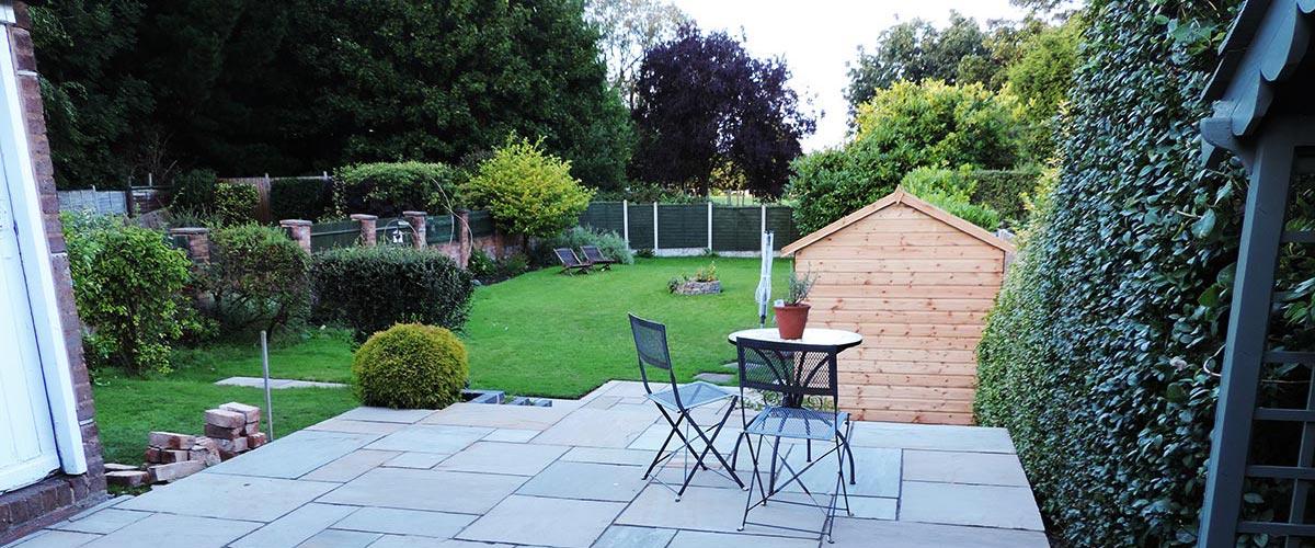 Garden Patio Installations