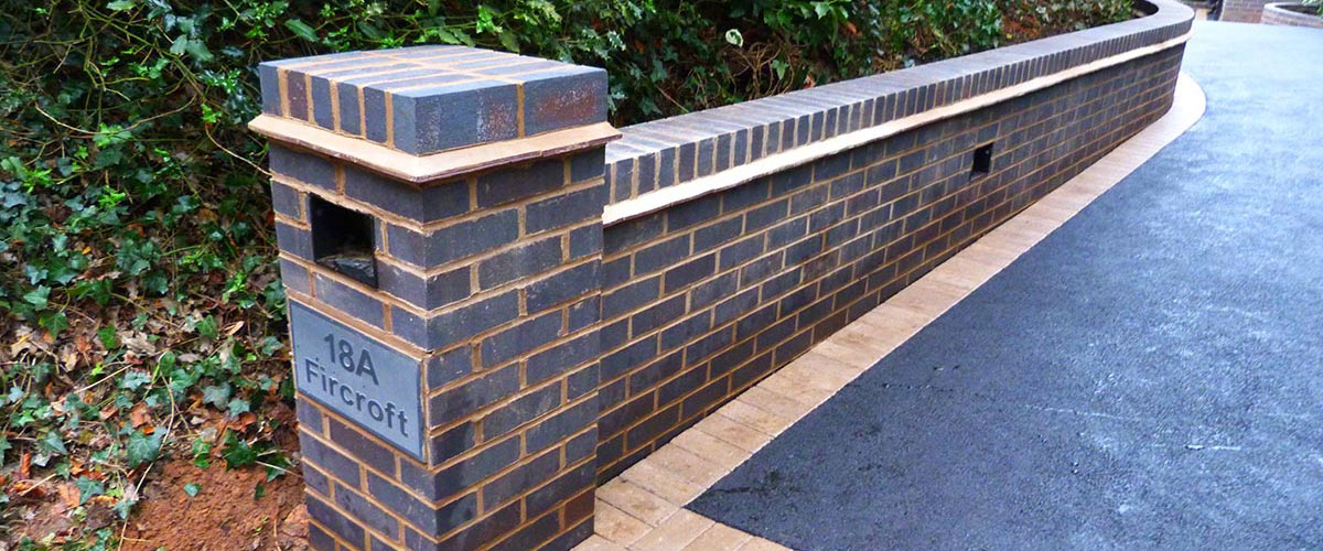 Garden & Brick Walls